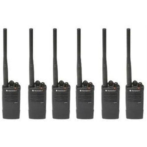 Motorola RDV5100 Two Way Radios 6 Qty