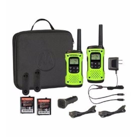 Motorola T605 FRS Radios with Case