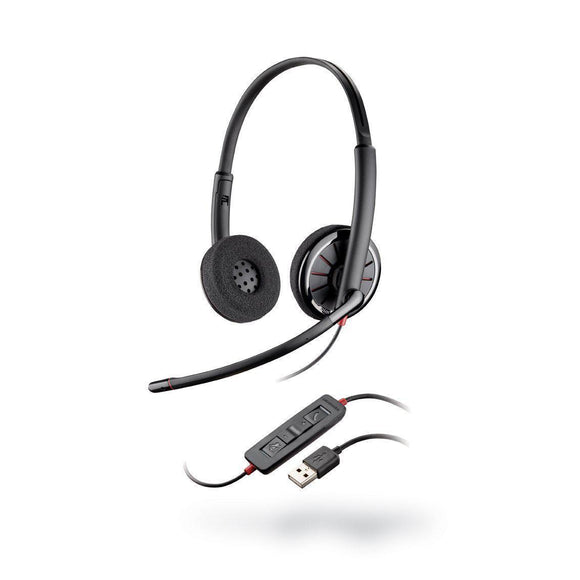 Plantronics 85619-102 Blackwire C320 USB Headset