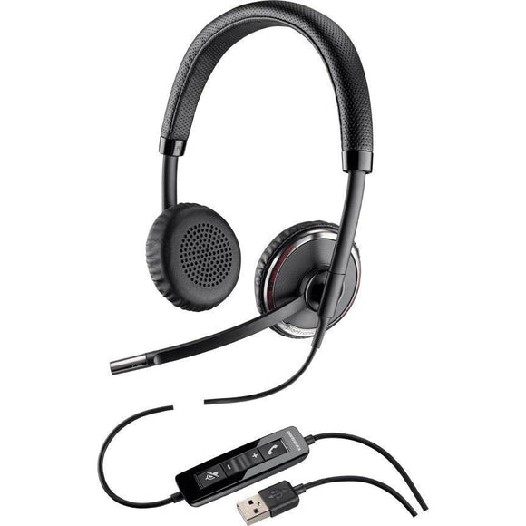 Plantronics 88861-01 Blackwire C520 USB Binaural Headset