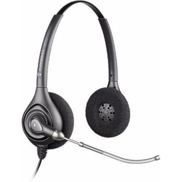 Plantronics HW261 SupraPlus 64337-31 Binaural Voicetube Headset
