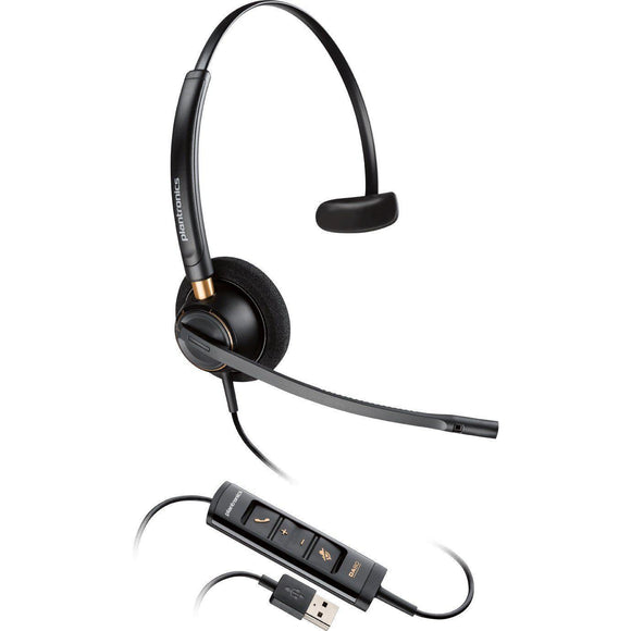 Plantronics HW515 203442-01 USB Headset