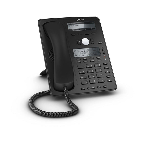 SNOM D745 HiRes Display Desk Phone