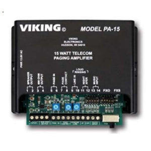 Viking Electronics PA-15 15 Watt Paging Amplifier