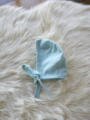 Reversible Linen Bonnet