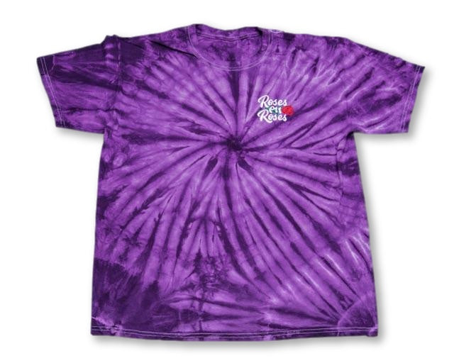 Purp Tie Dye Worldwide T-Shirt