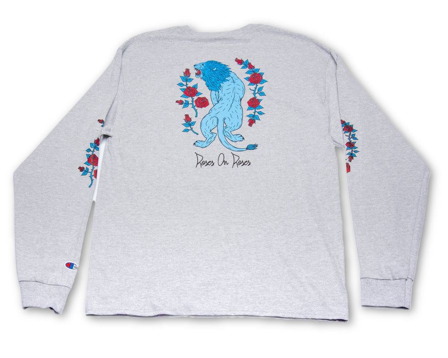 Silver Lion Long Sleeve