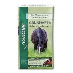 Green Oat Grass Chaff 15kg - Cheval Naturel France
