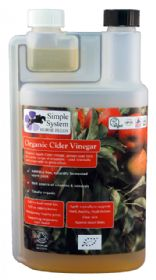 Organic Cider Vinegar - Cheval Naturel France