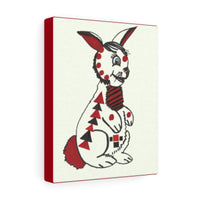 Infant Stimulation Art to Develop Your Baby's Brain -Black, Red and White Rabbit