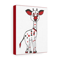Infant Stimulation Black, Red and White Giraffe
