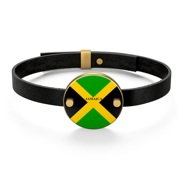 Jamaica Leather Bracelet