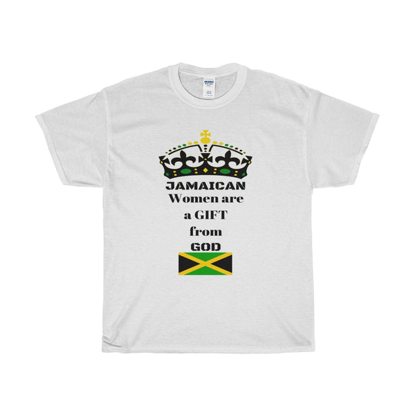 "Women's ""Gift From God"" Jamaica Cotton Tee"