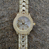 Diamond Cuban Link Watch