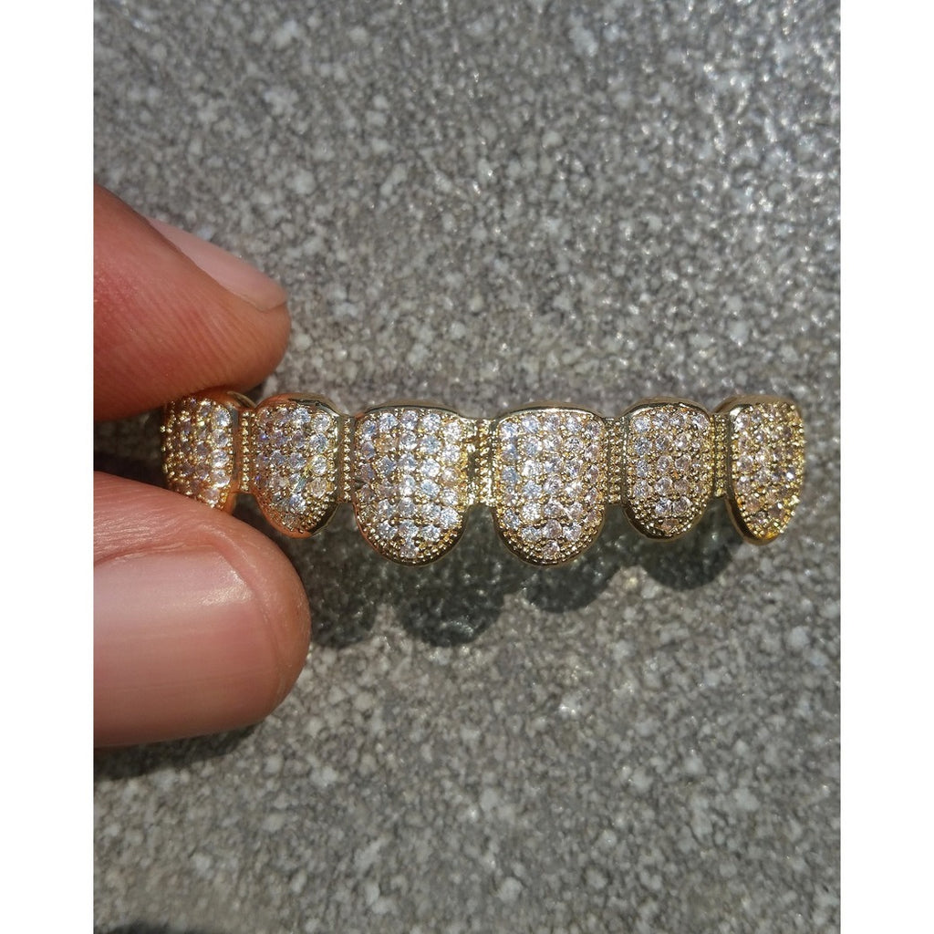 Golden Boyz coupon 18K Gold Diamond Grillz