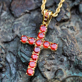 Gemstone Cross