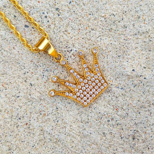 18K Gold Diamond Crown