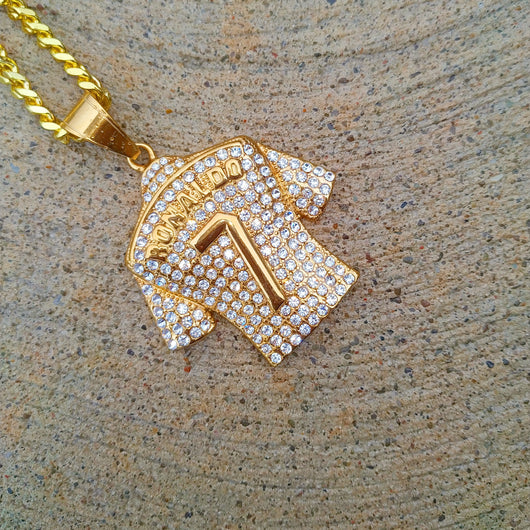 18K Gold Diamond Ronaldo