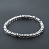 1 Row CZ Diamond Tennis Bracelet