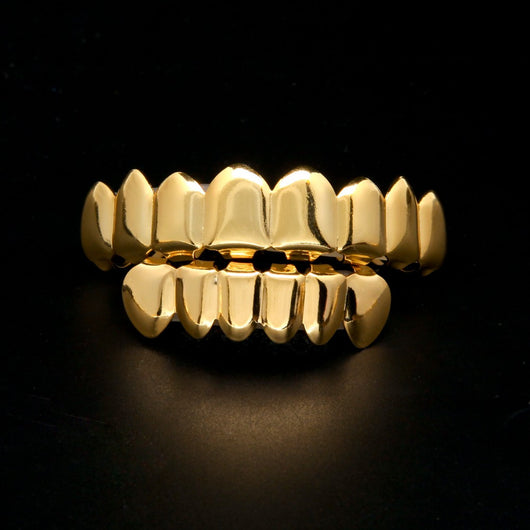 18K Gold Plated Grillz