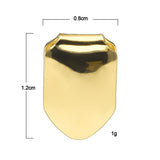 18k Gold Plated Canine Tooth Grill (Single Tooth Grill)