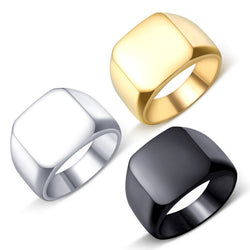 Square Face Ring