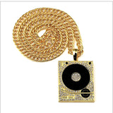 DJ Pendant and Chain