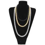 18K Gold 2 Row Tennis Chain