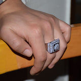 Drip Squared Ring