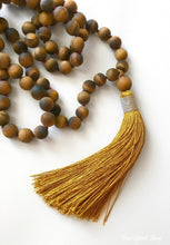 108 Natural Matte Tiger Eye Mala Prayer Beads - Free Spirit Shop