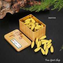 50 Pcs Natural Back-flow Incense Cones - 13 Scents - Free Spirit Shop