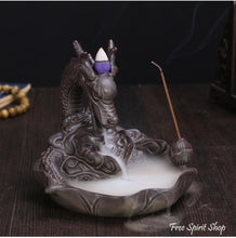Dragon Ceramic Incense Burner - Free Spirit Shop