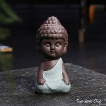 Little Buddha Statue in Ceramic - 4 colours - Free Spirit Shop