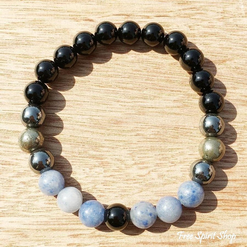 Protection & Strength Mala Bead Bracelet - Free Spirit Shop