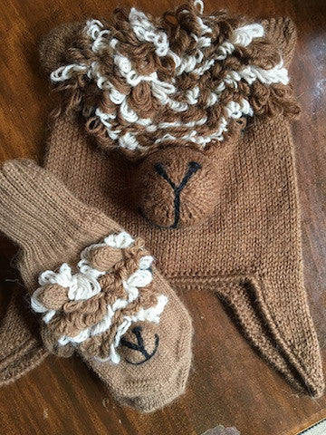 Alpaca Children's Hat