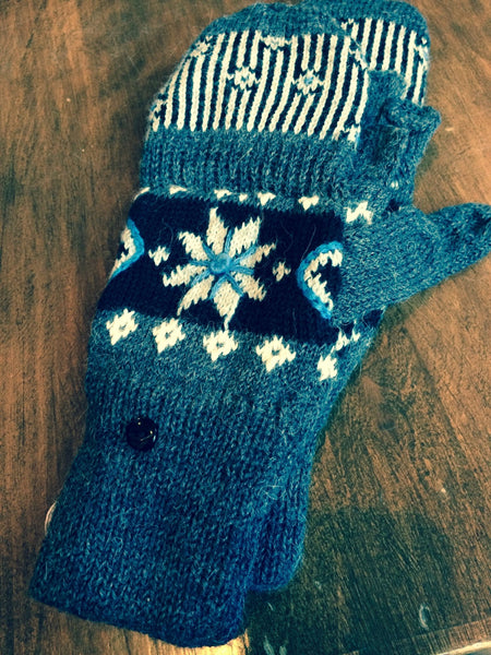 Blossom Fingerless Gloves