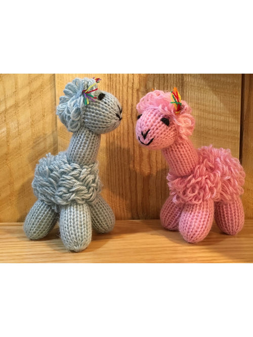Hand Knit Baby Toys