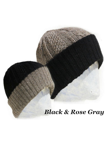 Reversible Irish Hand Knit Hat