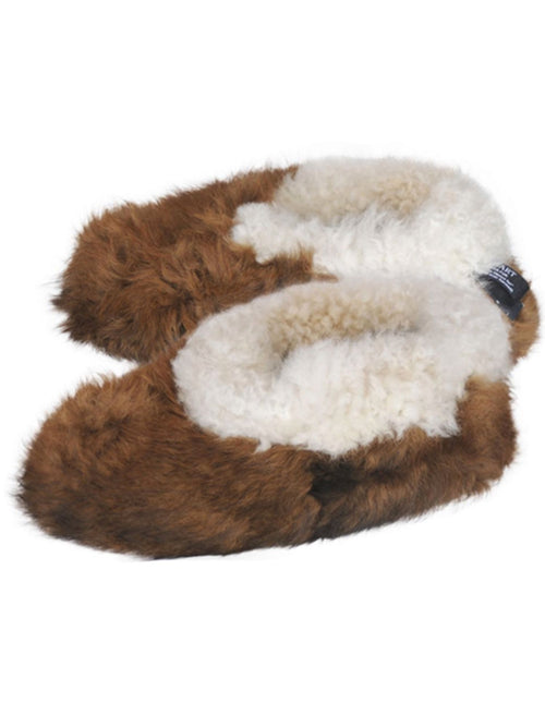 Reversible Fur Slippers