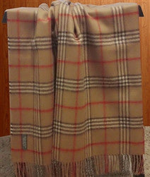 Woven and Brushed Scottish Throw