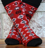 Christmas Print Socks
