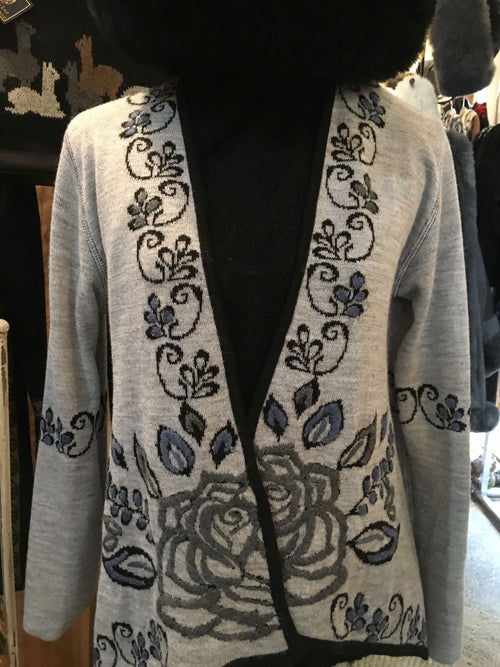 Silver Fox Reversible Cardigan
