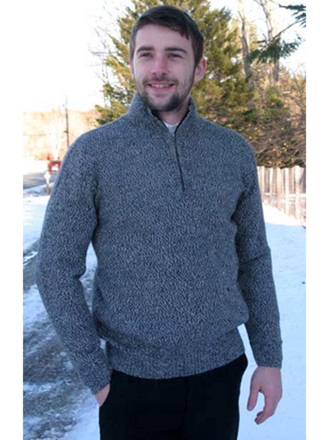 Men's Half Zip Sweater