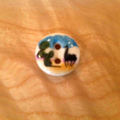 Buttons - Small Hand Painted