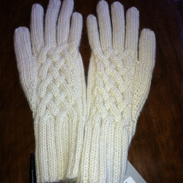 Snake Cable Gloves