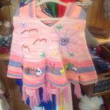 Children's Poncho - Applique