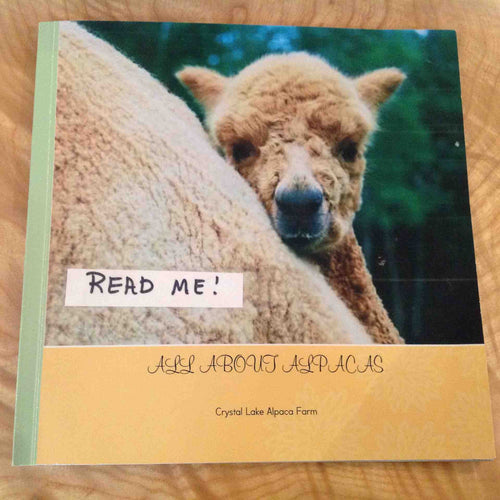 "Books - ""All About Alpacas"""