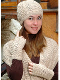 Scallop Lace Fingerless Gloves