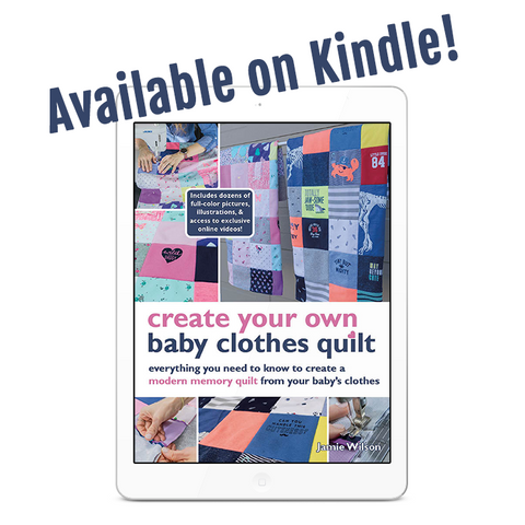 Baby Clothes Quilt Pattern on Kindle