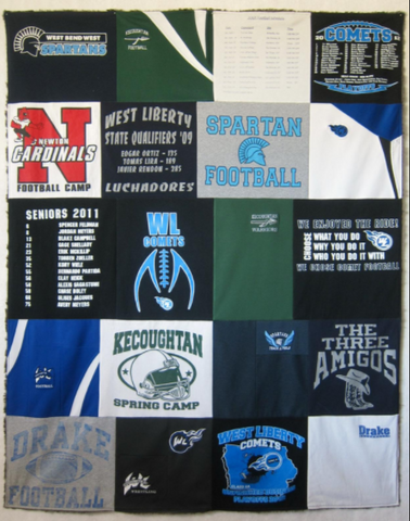 t-shirt quilt pattern instant download